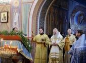 Председатель Синодального отдела по монастырям и монашеству совершил Литургию в Свято-Троицком Стефано-Махрищском ставропигиальном монастыре