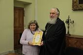 В Издательском Совете состоялось награждение по итогам конкурса «Новая библиотека» в номинации «Печатные издания»