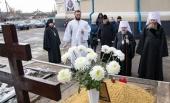 На 40-й день со дня кончины митрополита Иоанникия (Кобзева) в Луганске совершили заупокойные богослужения
