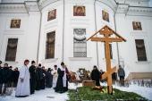 На девятый день после кончины митрополита Казанского Феофана в столице Татарстана совершены заупокойные богослужения