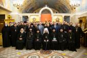 Состоялся актовый день Минской духовной академии
