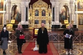 В Храме Христа Спасителя в Москве дан старт ежегодной акции «Крылья ангела»