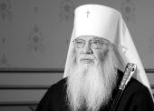Отошел ко Господу митрополит Иов (Тывонюк)