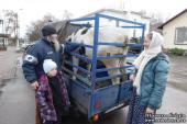 Епархии Украинской Православной Церкви продолжают оказывать гуманитарную помощь нуждающимся