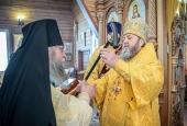Митрополит Ижевский и Удмуртский Викторин посетил новооткрывшийся первый в Удмуртии мужской монастырь
