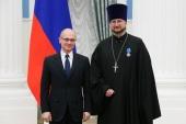 Создатель первого в России детского хосписа протоиерей Александр Ткаченко награжден орденом Почета
