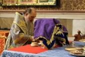 В праздник Введения во храм Пресвятой Богородицы глава Казахстанского митрополичьего округа совершил Литургию в Успенском кафедральном соборе Нур-Султана