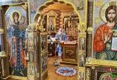 В праздник Введения во храм Пресвятой Богородицы Святейший Патриарх Кирилл совершил Литургию в Александро-Невском скиту