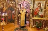 В канун дня памяти благоверного князя Александра Невского Святейший Патриарх Кирилл совершил всенощное бдение в Александро-Невском скиту