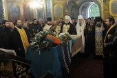 В Почаевской лавре состоялось погребение митрополита Иова (Тывонюка)