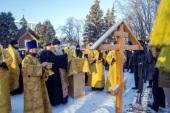 В Ульяновске освятили место под строительство храма Александра Невского и открыли памятник святому князю в день его памяти