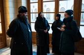 Председатель Финансово-хозяйственного управления провел выездное совещание по реставрации Иоанно-Предтеченского ставропигиального монастыря