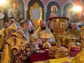 В Киево-Печерской лавре отметили 30-летие архиерейской хиротонии Блаженнейшего митрополита Онуфрия