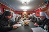 Блаженнейший митрополит Онуфрий возглавил последнее в 2020 году заседание Синода Украинской Православной Церкви