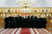 Патриарший экзарх всея Беларуси посетил Минскую духовную семинарию