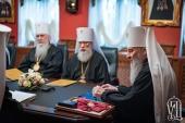 Состоялось очередное заседание Синода Украинской Православной Церкви