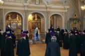 В Новодевичьем женском монастыре г. Москвы состоялось награждение духовенства Московской областной епархии