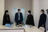 Калужская епархия при поддержке Издательского Совета передала комплекты духовной литературы для пациентов 18-ти COVID-стационаров