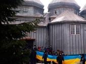 Три уголовных производства открыто после попытки захвата храма в с. Михальча Черновицкой области Украины