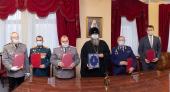 Подписано соглашение о сотрудничестве между Новосибирской епархией и кадетскими корпусами Новосибирска и Бердска