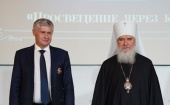 Председатель Издательского Совета вручил церковные награды представителям книжной отрасли