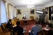 Интервью митрополита Крутицкого и Коломенского Ювеналия подмосковным СМИ