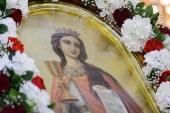 В день памяти великомученицы Варвары митрополит Астанайский Александр совершил Литургию в Никольском соборе Алма-Аты
