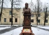 На территории больницы святителя Алексия в Москве установили скульптуру святителя Луки (Войно-Ясенецкого)