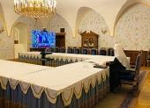 Святейший Патриарх Кирилл принял участие в расширенном заседании коллегии Министерства обороны РФ