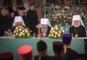 Блаженнейший митрополит Онуфрий провел ежегодное собрание духовенства Киевской епархии