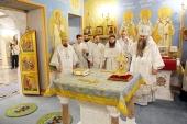 В Дивеевском монастыре освящен храм в честь иконы Божией Матери «Державная»