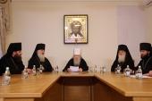 Патриарший наместник Московской епархии возглавил годовое собрание духовенства и мирян Московской областной епархии