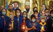 В Москве стартовала акция «Вифлеемский огонь: свет мира и дружбы»