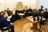 Митрополит Минский Вениамин провел заседание, посвященное празднованию в Белорусском экзархате 800-летия со дня рождения благоверного князя Александра Невского
