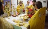 В городе Городенка Ивано-Франковской области Украины впервые за несколько десятилетий была совершена Божественная литургия