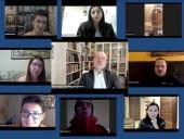 Декан социально-гуманитарного факультета Российского православного университета А.В. Щипков обсудил с учащимися ценностные основы российского образования