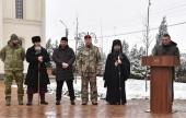 Архиепископ Махачкалинский Варлаам принял участие в открытии храмового комплекса в Грозненском соединении Росгвардии