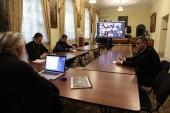 Митрополит Калужский Климент провел онлайн-совещание с руководителями епархиальных издательских отделов