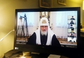 Святейший Патриарх Кирилл: Мы не должны оставлять без пастырской заботы множество людей, вовлеченных в социальные сети