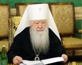 Патриаршее поздравление митрополиту Крутицкому и Коломенскому Ювеналию с 55-летием архиерейской хиротонии