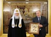 Святейший Патриарх Кирилл наградил компанию «Норильский никель» орденом благоверного князя Даниила Московского