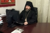 Председатель Синодального отдела по взаимодействию с Вооруженными силами провел вебинар с руководителями епархиальных военных отделов и военным духовенством