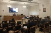 В Общецерковной аспирантуре состоялось заседание Объединенного диссертационного совета по теологии