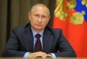 Президент России В.В. Путин поздравил Святейшего Патриарха Кирилла с Новым годом и Рождеством