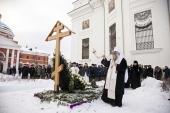 На 40-й день по кончине митрополита Феофана (Ашуркова) в Казани состоялись заупокойные богослужения