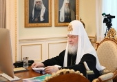 His Holiness Patriarch Kirill chairs Holy Synod's last session in 2020
