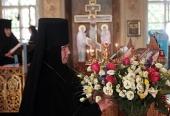 Патриаршее поздравление настоятельнице подворья Пюхтицкого монастыря в Москве игумении Филарете (Смирновой) с 85-летием со дня рождения