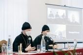 Патриарший экзарх всея Беларуси возглавил заседание Ученого совета Минской духовной семинарии