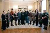 Митрополит Астанайский Александр вручил церковные награды сотрудникам Центральной клинической больницы г. Алма-Аты