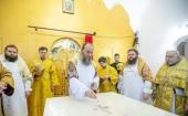 Управляющий делами Украинской Православной Церкви освятил в Ровенской епархии новый храм, построенный вместо захваченного раскольниками